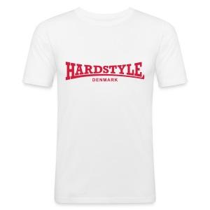 Hardstyle Denmark - Red - Men's Slim Fit T-Shirt