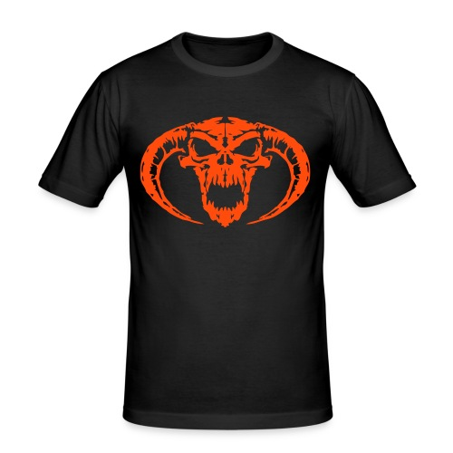Devil 2 - Neonorange - Slim Fit T-shirt herr