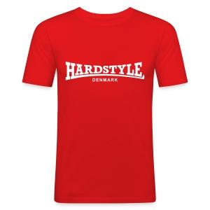 Hardstyle Denmark - White - Men's Slim Fit T-Shirt