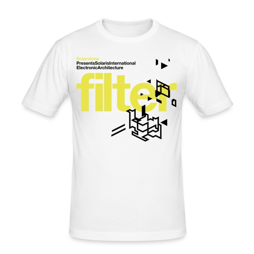 Electronic Architecture 'Filter' T-Shirt. - Men's Slim Fit T-Shirt