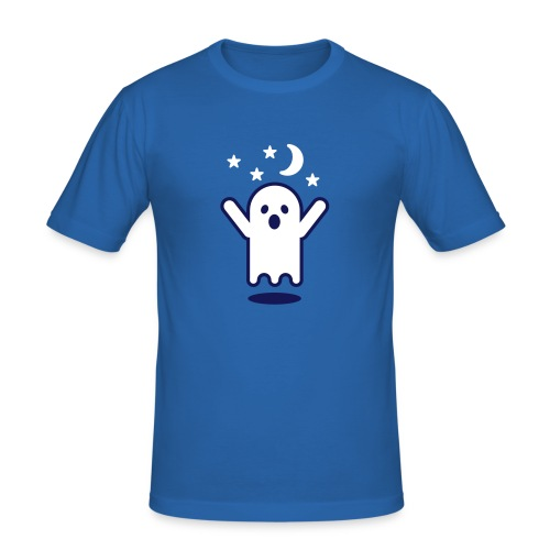 Glow in the dark Ghost Slim Fit - Men's Slim Fit T-Shirt