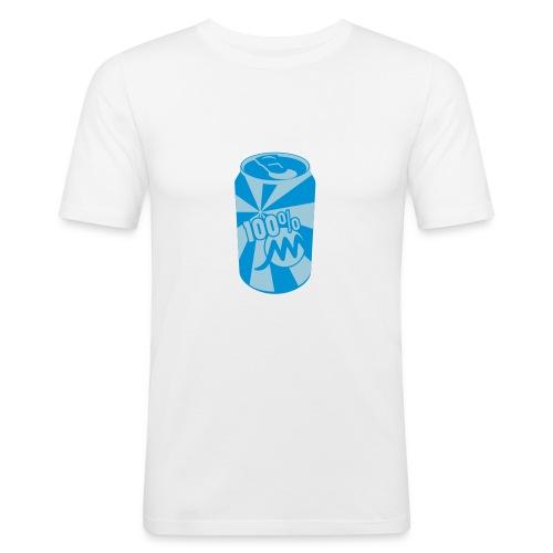 Près du corps H Blanc Canette - T-shirt près du corps Homme