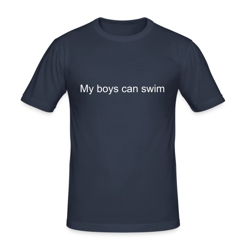My boys can swim-1 - Slim Fit T-shirt herr