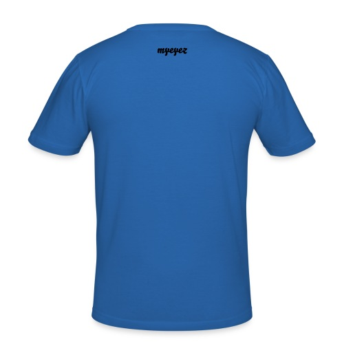 dont  hate the player - blue - Men's Slim Fit T-Shirt