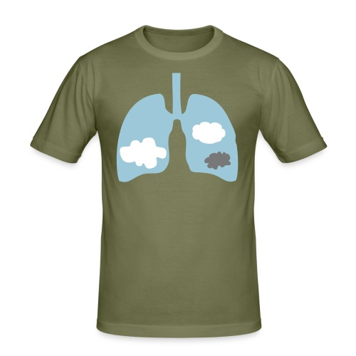 Lungs - slim fit T-shirt
