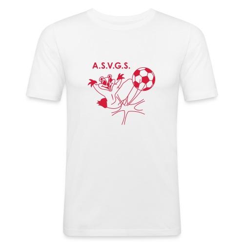 T-Shirt - Près du corps - blanc - T-shirt près du corps Homme
