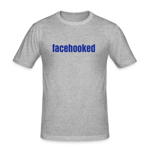 facehooked - Men's Slim Fit T-Shirt