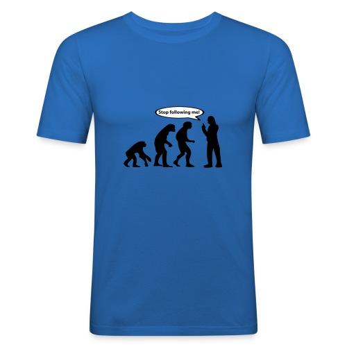 Stop following me! - slim fit T-shirt