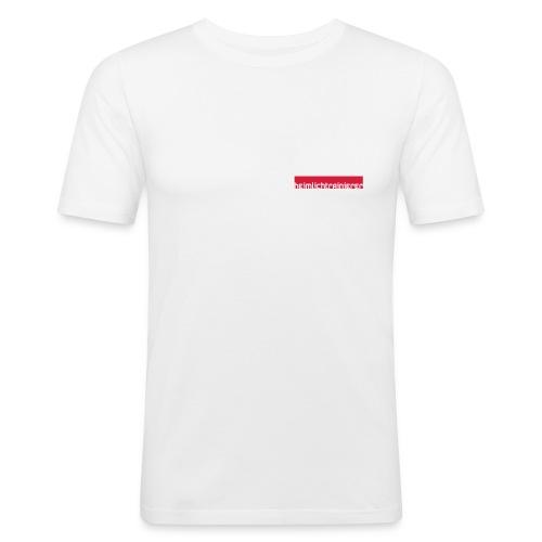 Doppelstocktechnik - Männer Slim Fit T-Shirt