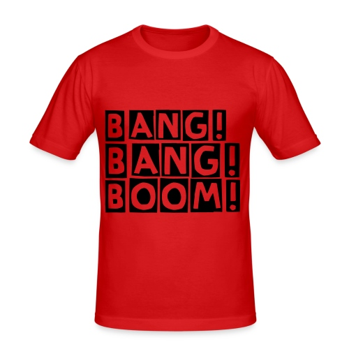BANGBANGBOOM 1 - Men's Slim Fit T-Shirt