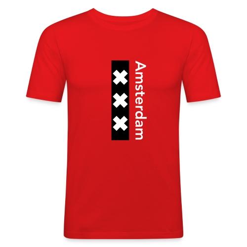 Amsterdam - Männer Slim Fit T-Shirt