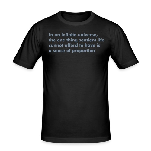 a sense of proportion - Men's Slim Fit T-Shirt