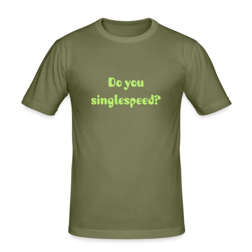singlespeed - Slim Fit T-skjorte for menn