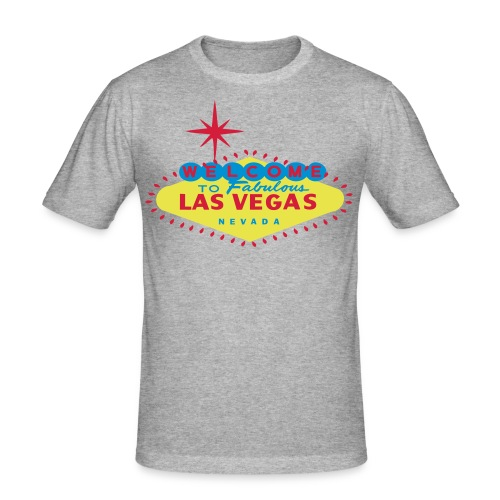Las Vegas t-shirt - Men's Slim Fit T-Shirt