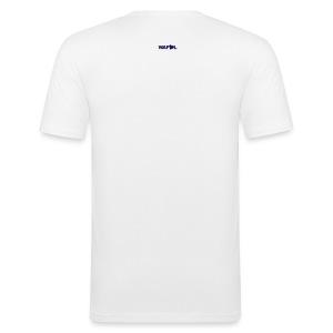 SHAM 75 - EUROPEAN CUP 75 - LEEDS SALUTE PLACEMENT - Men's Slim Fit T-Shirt