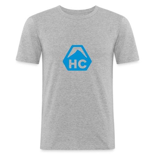 HC Icon Grey - Men's Slim Fit T-Shirt