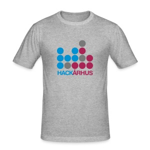 HackÅrhus Slim Shirt - Herre Slim Fit T-Shirt
