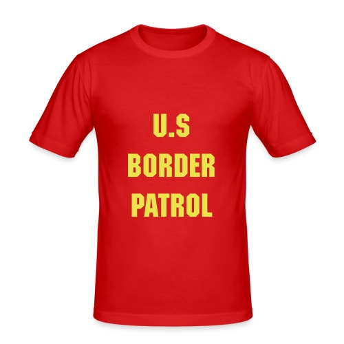 Border Patrol - Men's Slim Fit T-Shirt