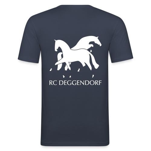 T Shirt für Reiter - Männer Slim Fit T-Shirt