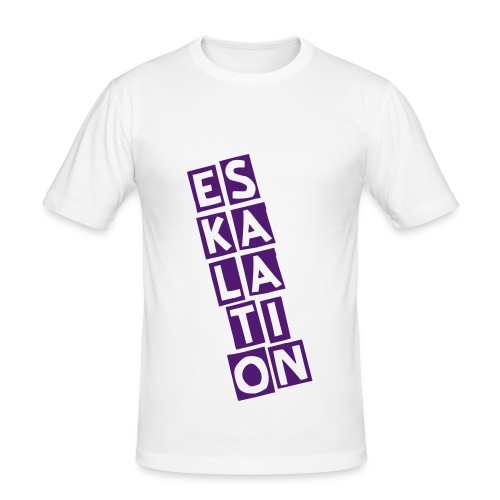 Eskalation - Männer Slim Fit T-Shirt