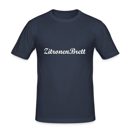 ZitronenBrett Slim Fit Classic - Männer Slim Fit T-Shirt
