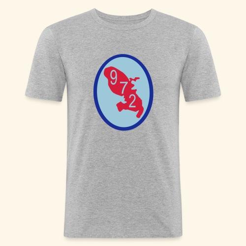 T-Shirt Martinique 972 - T-shirt près du corps Homme