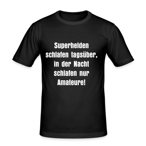 Superhelden - Männer Slim Fit T-Shirt