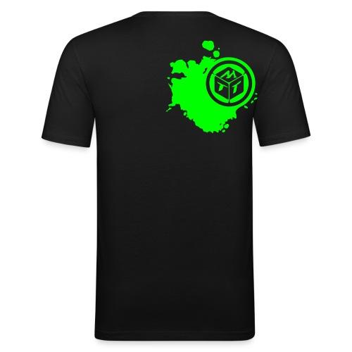 Das ist KLAMAUK! | Slim fit - Männer Slim Fit T-Shirt