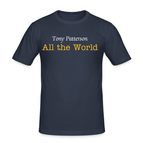 All the World T-Shirt - Men's Slim Fit T-Shirt