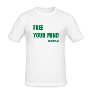FREE YOUR MIND - Tee shirt près du corps Homme