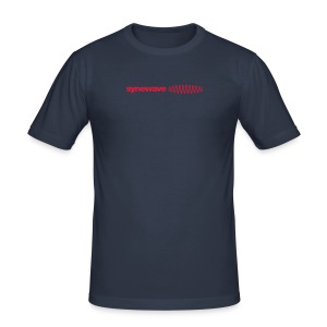 Synewave Records T-Shirt 2011 Special Series (red) - Men's Slim Fit T-Shirt