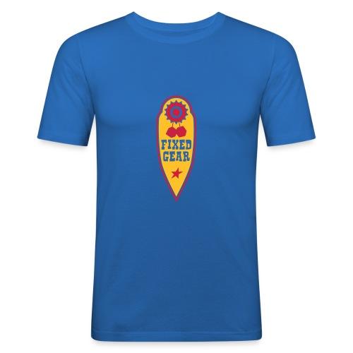 fixed gear - Männer Slim Fit T-Shirt