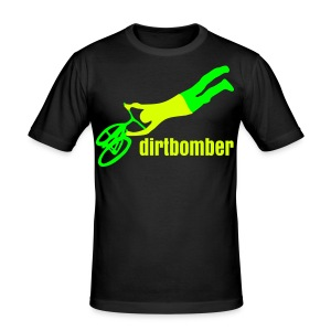 dirtbomber superseater Neon - Männer Slim Fit T-Shirt