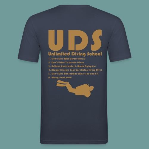 TS DIR Rules 02 - T-shirt près du corps Homme