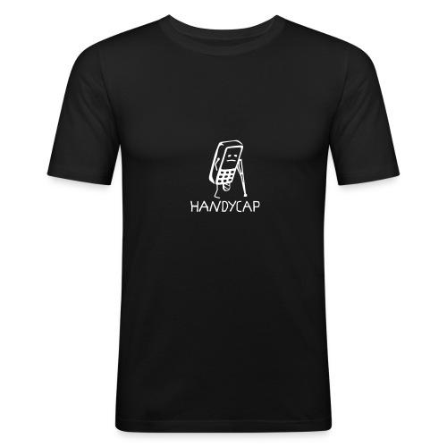 HANDYCAP - Männer Slim Fit T-Shirt