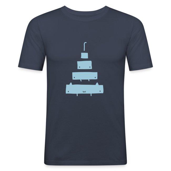 Catamorphosis T-Shirt Navy