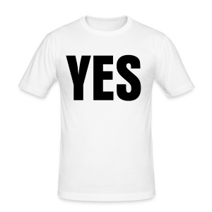 YES / NO - Tee shirt près du corps Homme