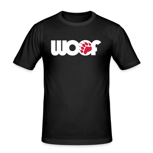 WOOF 2011 - Men's Slim Fit T-Shirt