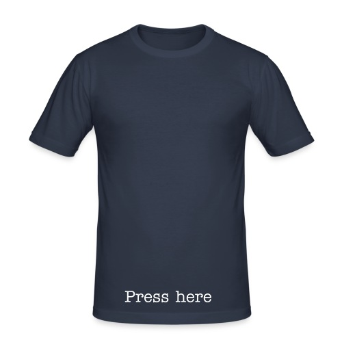 press2 - Men's Slim Fit T-Shirt