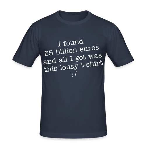 55billion - Männer Slim Fit T-Shirt