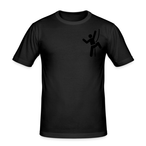 Rock Climber - Men's Slim Fit T-Shirt