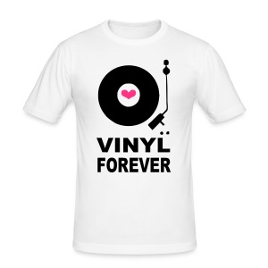 Vinyl Forever T-shirt - Men's Slim Fit T-Shirt