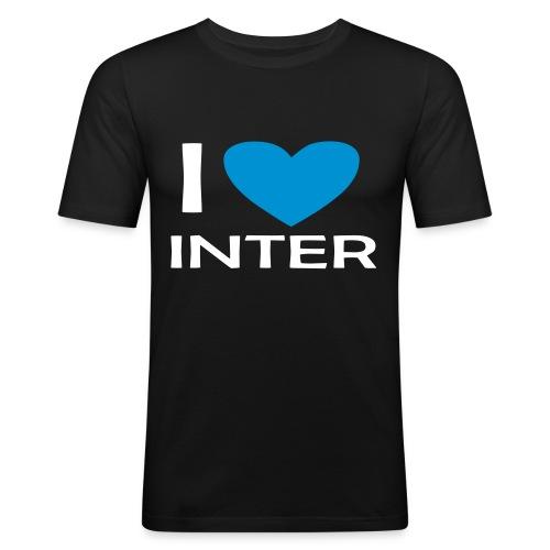 I LOVE INTER FOREVER - Maglietta aderente da uomo