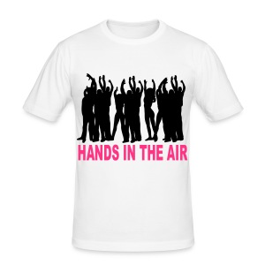 Hands in the Air Crowd t-shirt - Men's Slim Fit T-Shirt