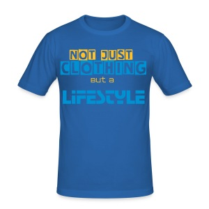 Tshirt |Not Just Clothing| Man Blu Royal - Maglietta aderente da uomo