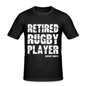 Retired Rugby Player - Men's Slim Fit T-Shirt