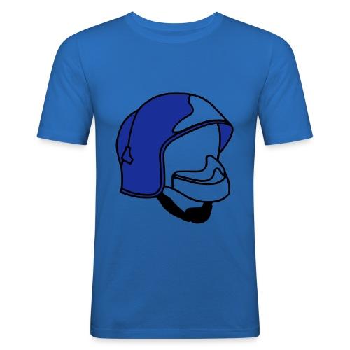 Casque F1 - Tee shirt près du corps Homme