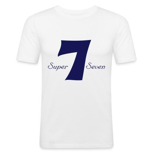 Super-7 - Men's Slim Fit T-Shirt