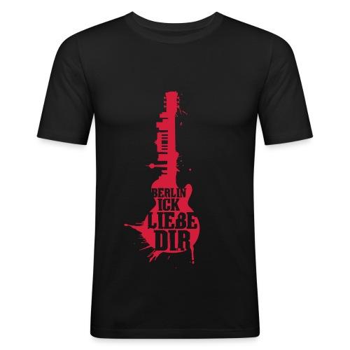 Berlin, ick liebe Dir - Männer Slim Fit T-Shirt