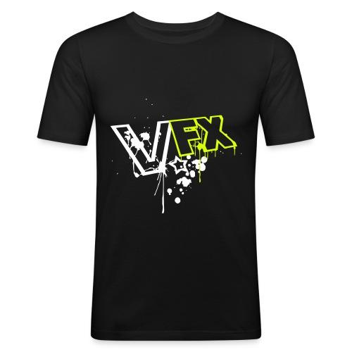 Visually Effected - VFX Shirt - Männer Slim Fit T-Shirt